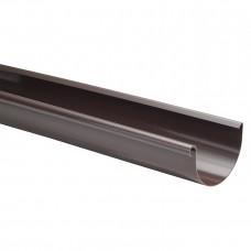 Фото - Желоб L=3м, 100 мм, Marley КОНТИНЕНТАЛЬ, коричневый