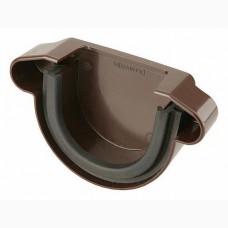 Фото - Заглушка внешняя, 100мм, Marley КОНТИНЕНТАЛЬ, коричневая