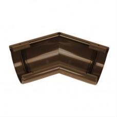 Фото - Угол желоба 135° универсальный, 100мм, Marley КОНТИНЕНТАЛЬ, коричневый