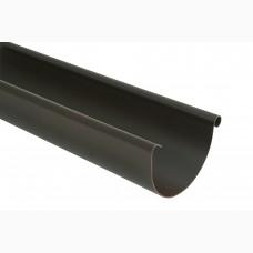Фото - Желоб L=3м, 125 мм, Roofix, тёмно-коричневый RAL 8019