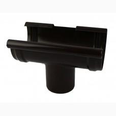 Фото - Воронка 125 х 105мм, Roofix, тёмно-коричневый RAL 8019